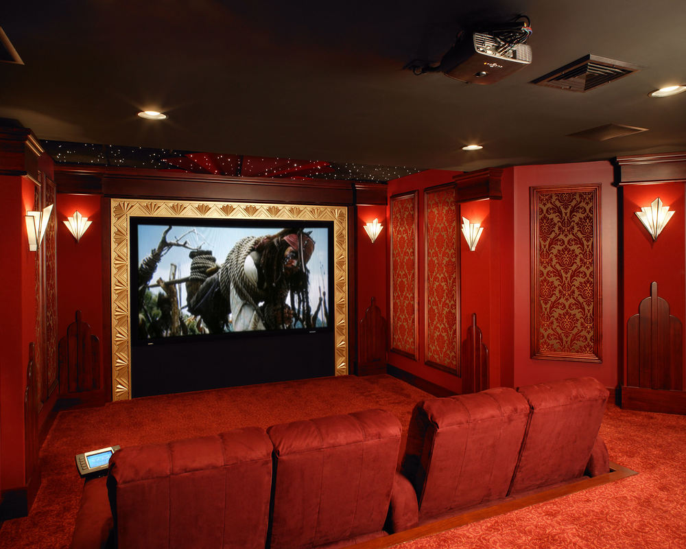 Art Decor Movie Theatre from Media Room Sinc