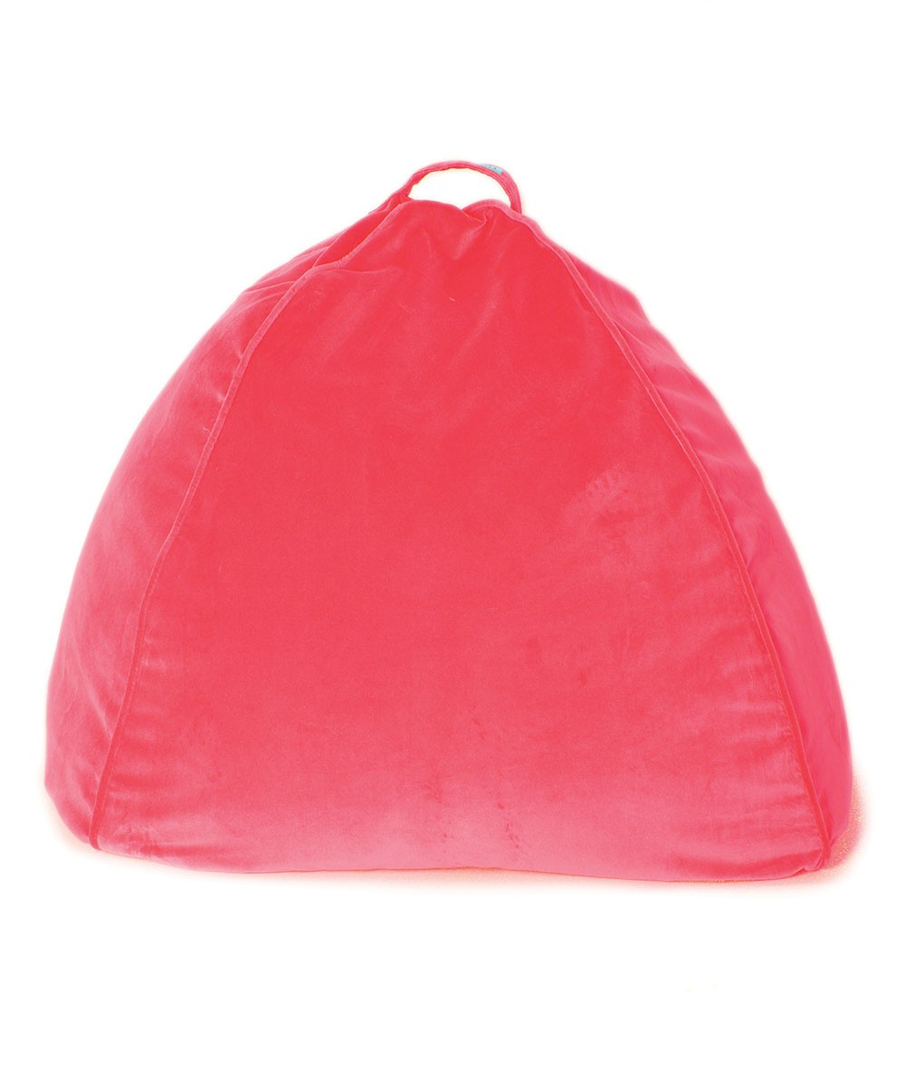 kip & co diva pink velvet bean bag