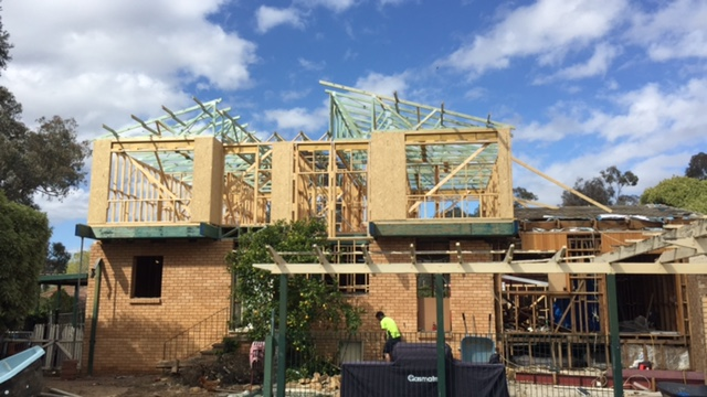 Roof Trusses Complete - October 2016