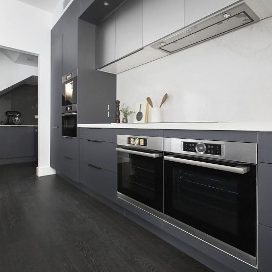 Totally loving the latest trends emerging from kitchen week on @theblock #kitchen #homestyling #decor #kitchenweek #grey #shadesofgrey #kitchendecor #homerenovation #renovation