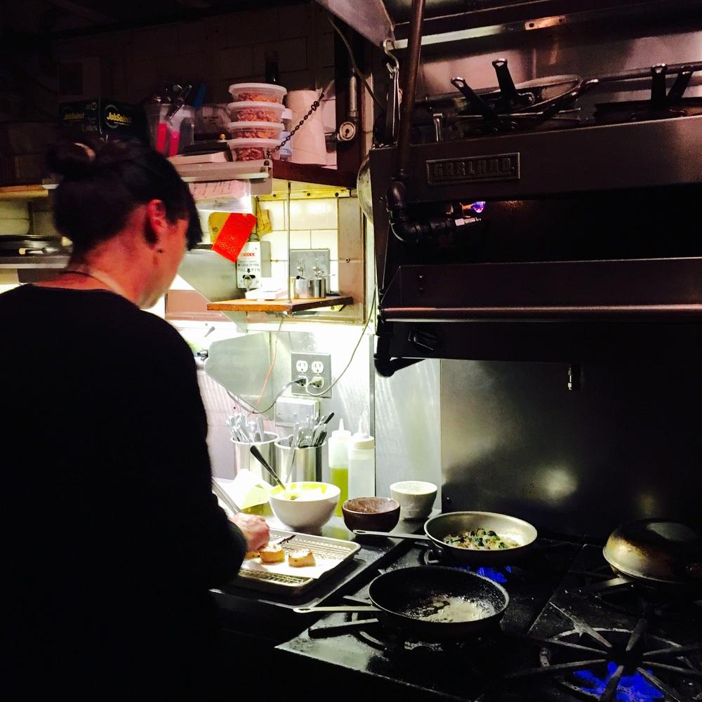 The chef se soir..the talented Burcu Aydeniz.