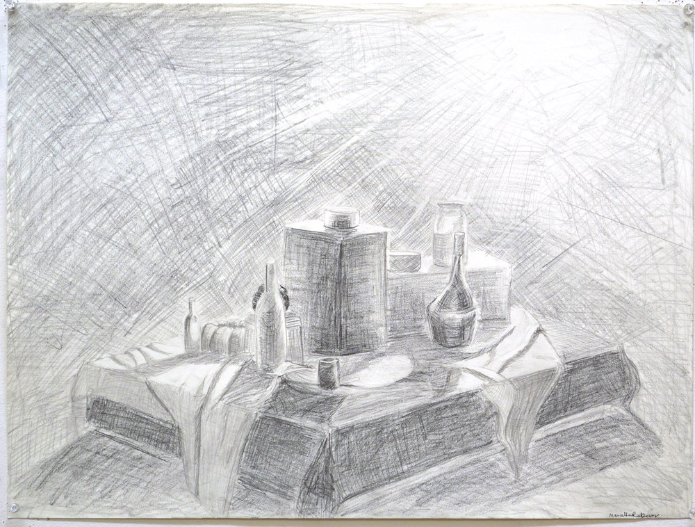 """value drawing"" pencil on paper"