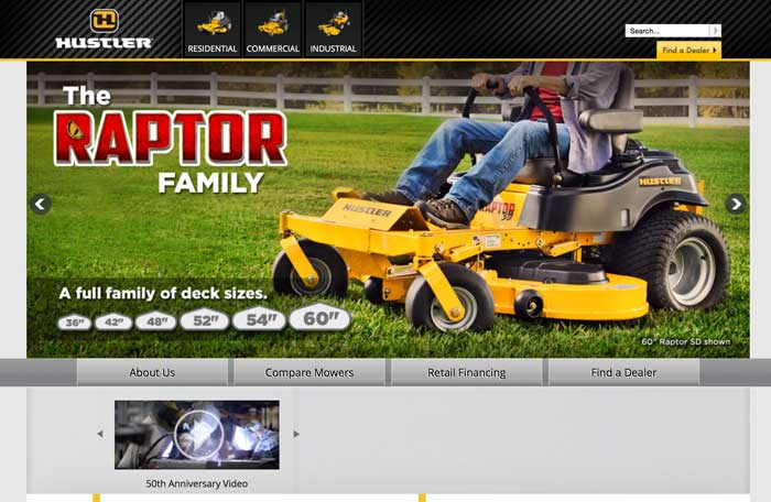 Hustler zero turn mower dealers in missouri