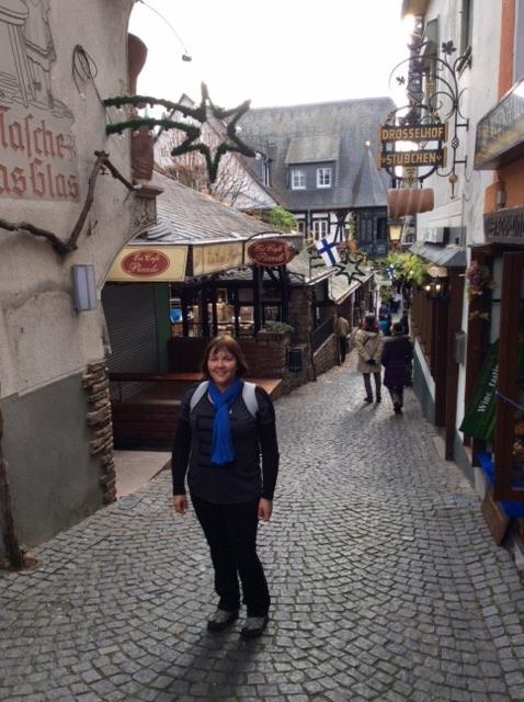 Rudesheim – not too many tourists.