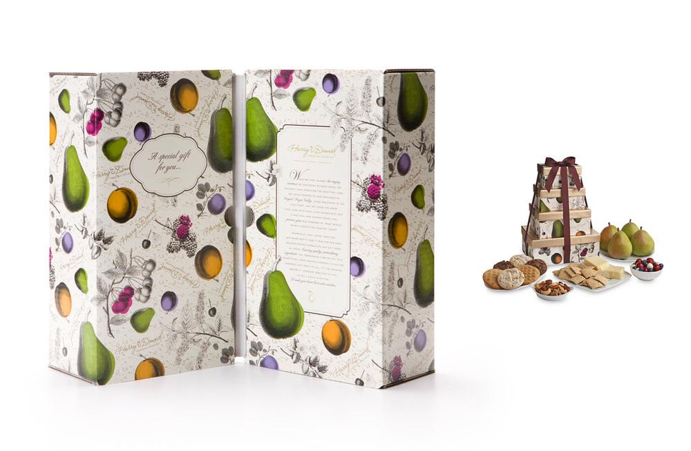 Harry & David seasonal gift box.