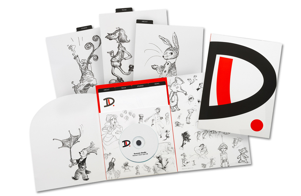 Proposal and Media Kit for Duncan Animation Studios.