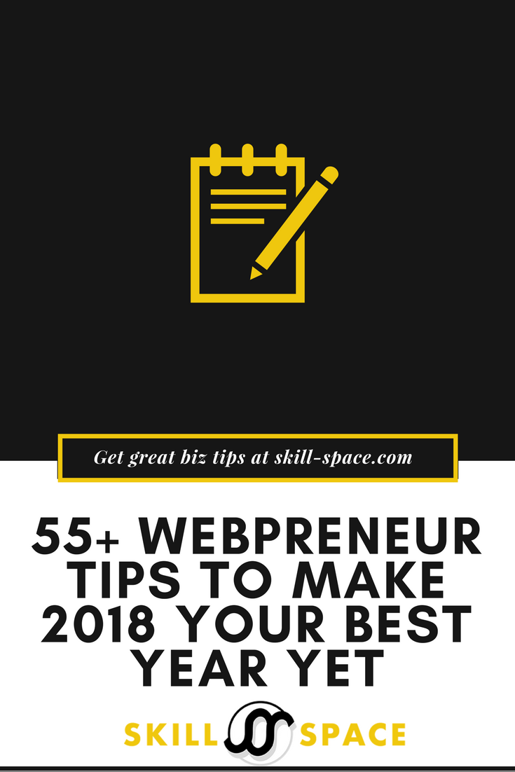 55+ Webpreneur Tips