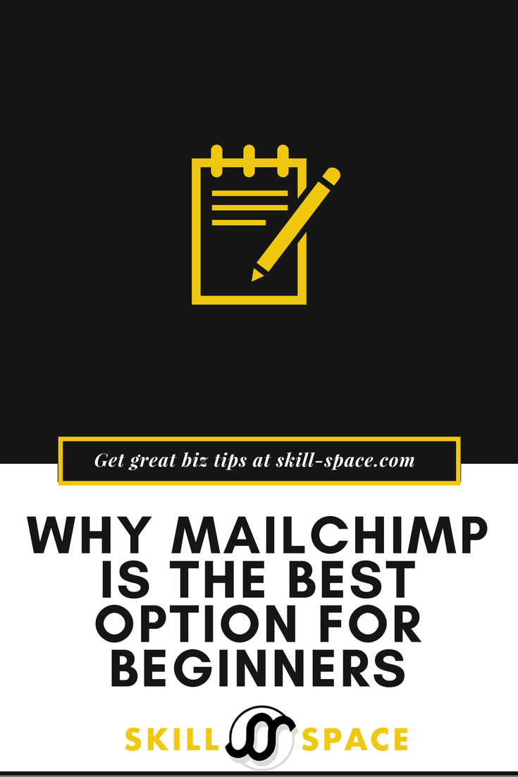 Why MailChimp is the best option for beginners