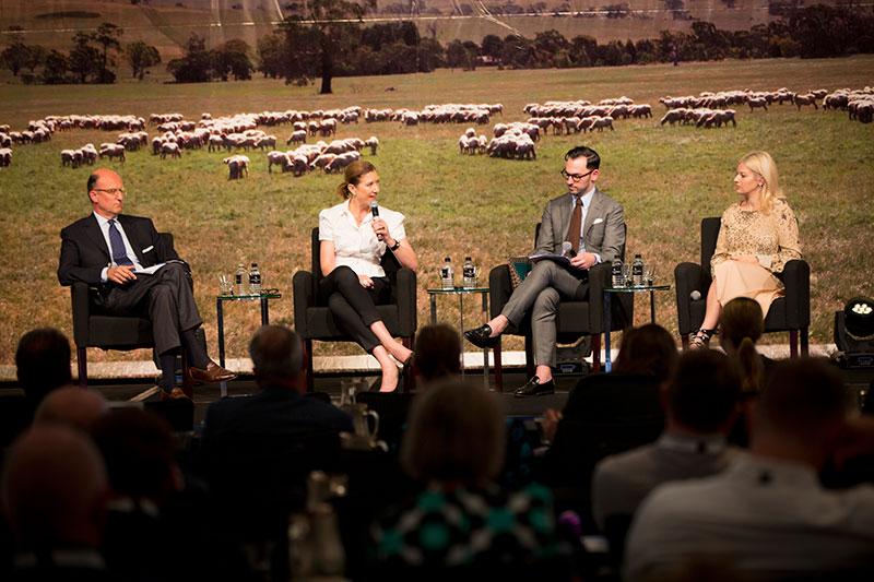 Melinda O'Rourke joins speaker panel at International Wool Textile Organisation 2016 Congress