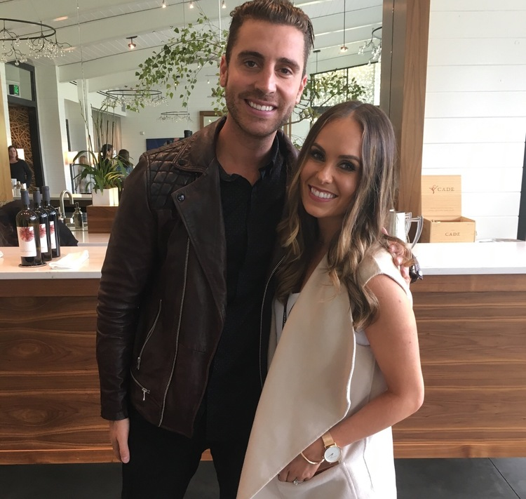 With Nick Fradiani at Love In The Vineyard 2015