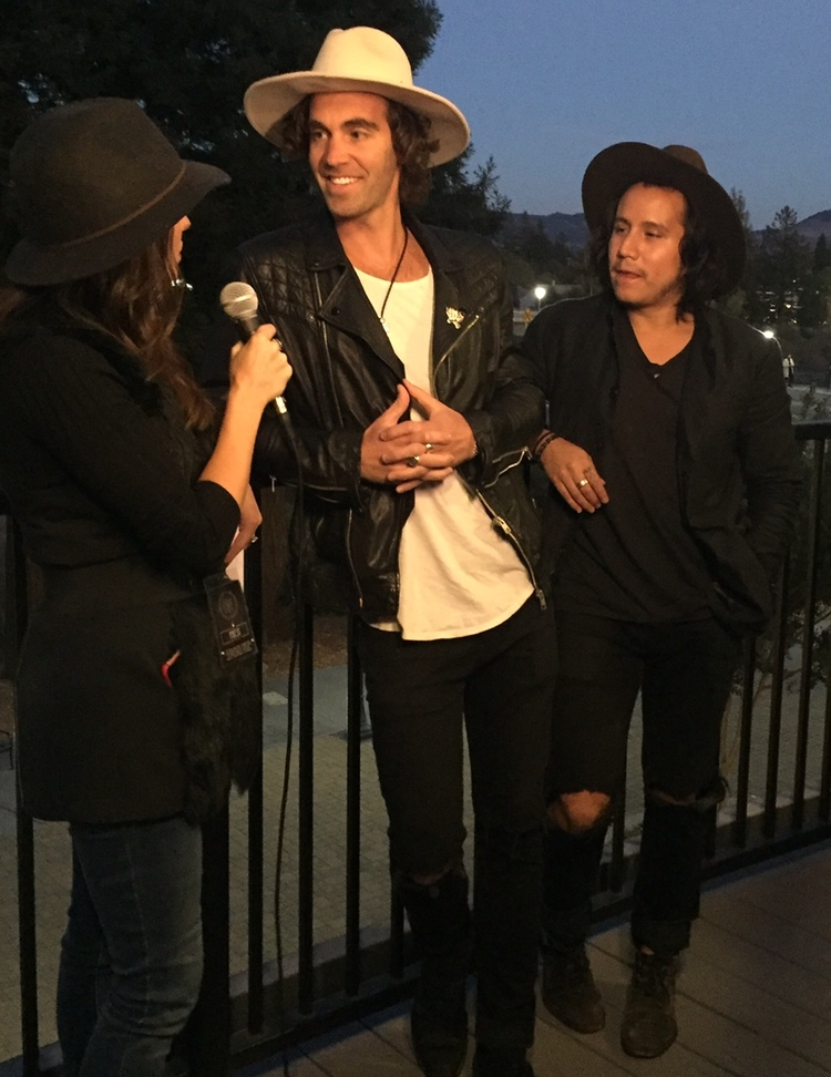 Interviewing American Authors at Live In The Vineyard 2015