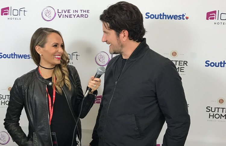 Interviewing Matt Nathanson at Live In The Vineyard 2016