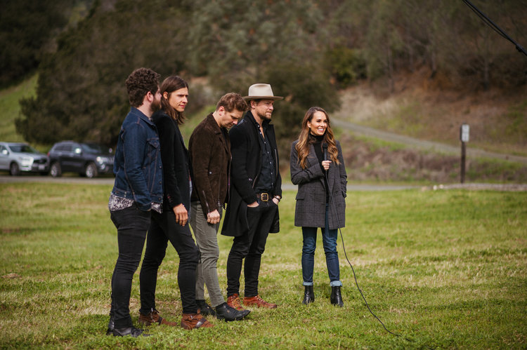 Interviewing Need To Breathe at Yountville Live 2017