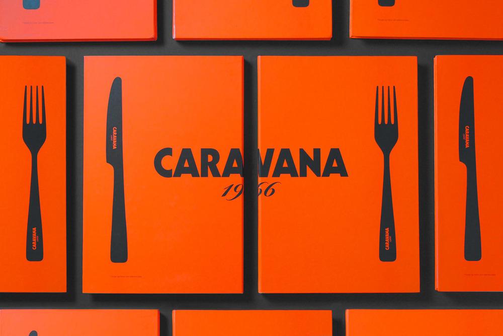 IS Creative Studio / Carta Restaurante Caravana