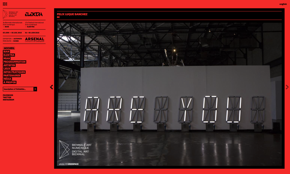 Baillat / 3rd International Digital Art Biennial