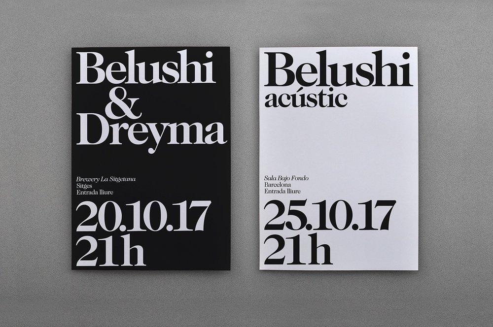 PFP, disseny / Belushi