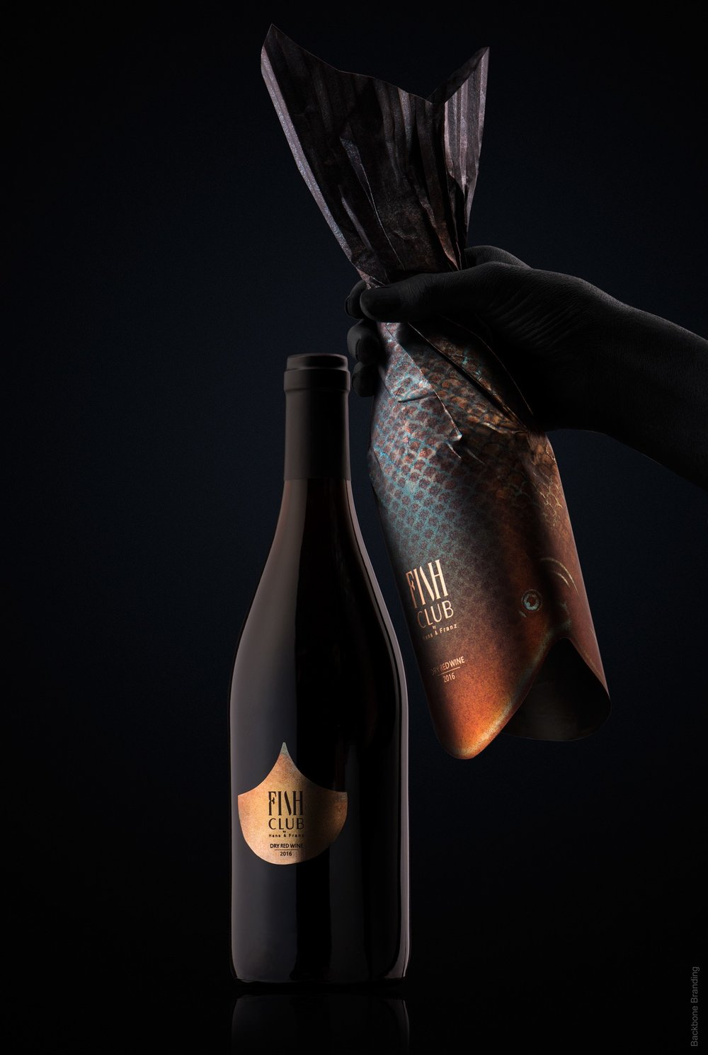 Backbone Branding / Fish Club wine