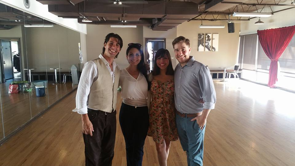 Dallas is our home away from home <3 David Wells and I are so blessed to be a part of such a wonderful community, filled with talented dancers and great people. Thank you Jairelbhi and George Furlong for all that you do, and for producing a kick butt tango show!!!