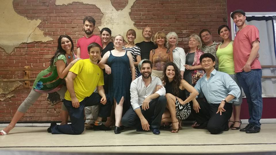 Great turn out yesterday for the Argentine Tango Workshop with Hugo and Celina! Nothing but Okc tango love for these amazing teachers!!