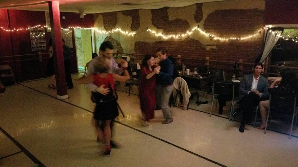 Welcome George and Jairelbhi Milonga ! We had dancers come in from Dallas, Stillwater, and Tulsa to dance the night away!