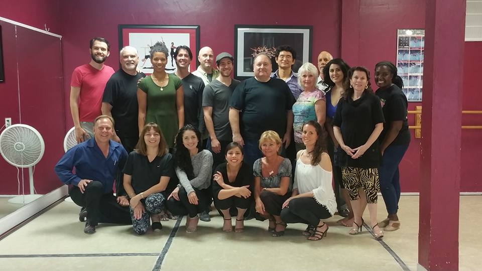 Great turnout for the Workshop! Sore but feeling GOOD!! Thanks to  all who came to dance with these great teachers and dancers! We love George and Jairelbhi!