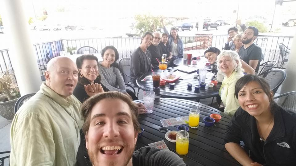 Of course we all went out for margaritas after the workshop! Good times with new and old friends!
