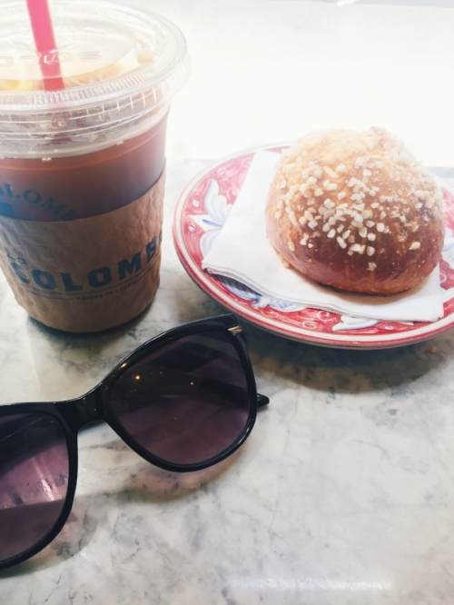 Sugar Brioche and Cold Brew, La Colombe