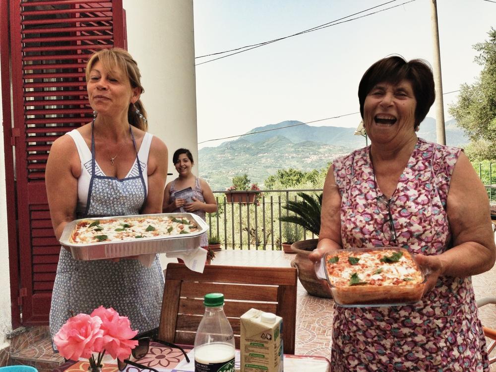 Maria and Nonna Carmela