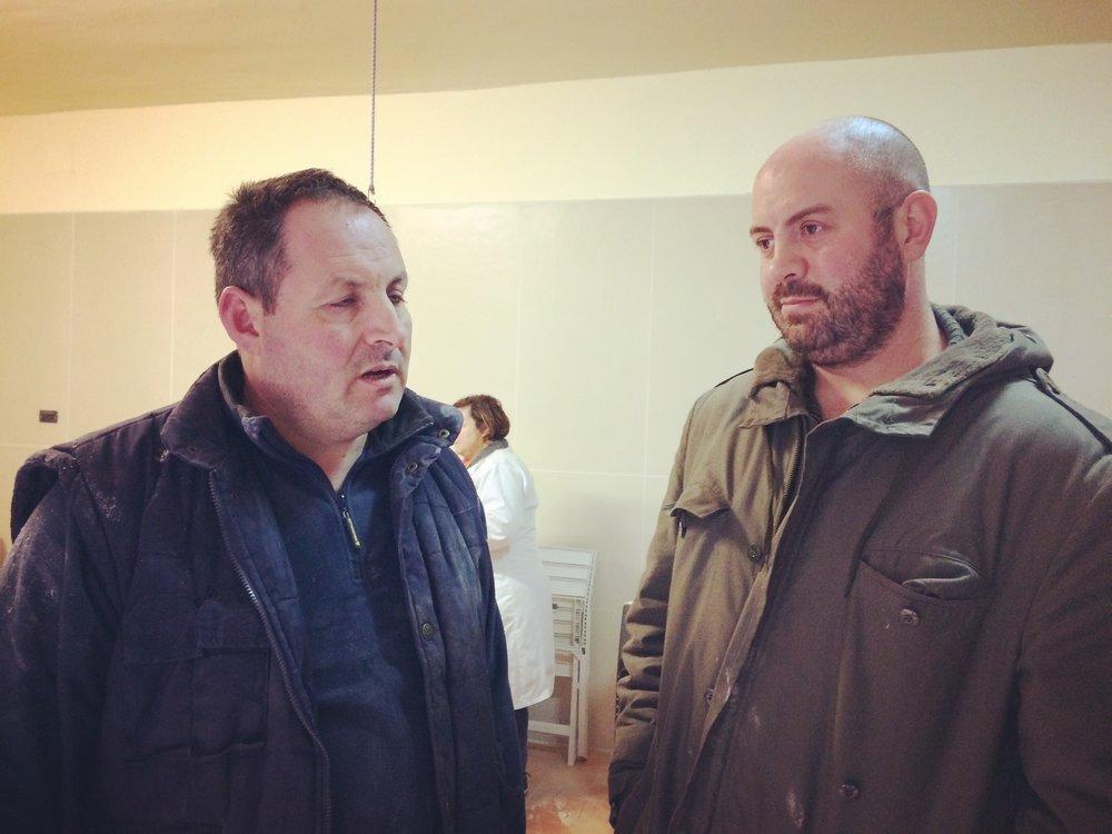 Gasperino (L) & Donato (R)