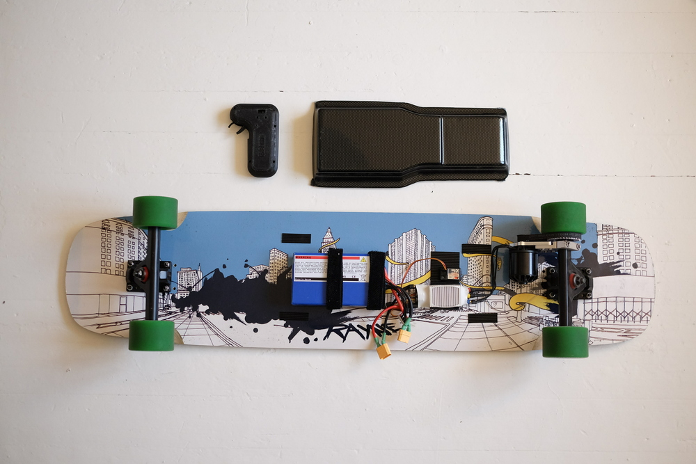 Build Helectric Board Helsinki Electric Longboard Project