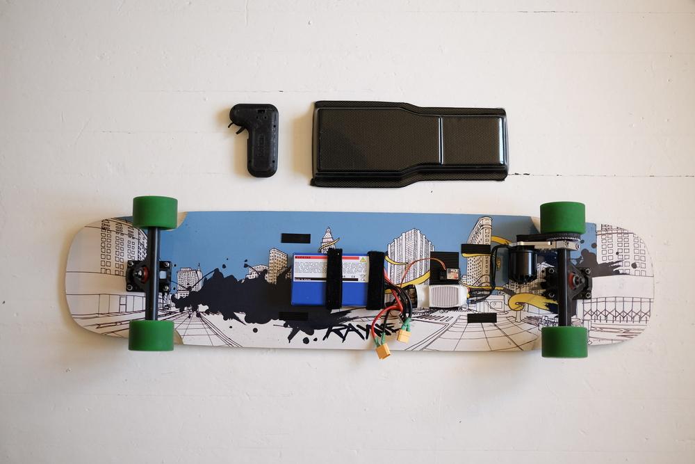 Build Helectric Board Helsinki Electric Longboard Project