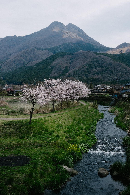 Double peak Mount Yufu