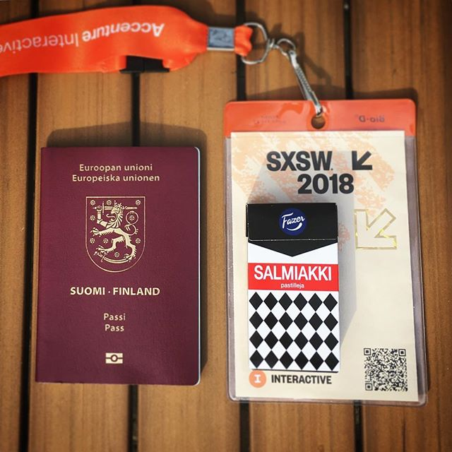 Travel / SXSW essentials of a Finn. Salmiakki (salty licorice) is my cure when homesick on the road. Almost impossible to find outside Nordics or Netherlands. 🙏🏻 My salmiakki supply is running low sl today heading back to Helsinki from Texas. Thank you Austin for the great experience! #sxsw  #salmiakki  #1x1marketing @fazersuomi