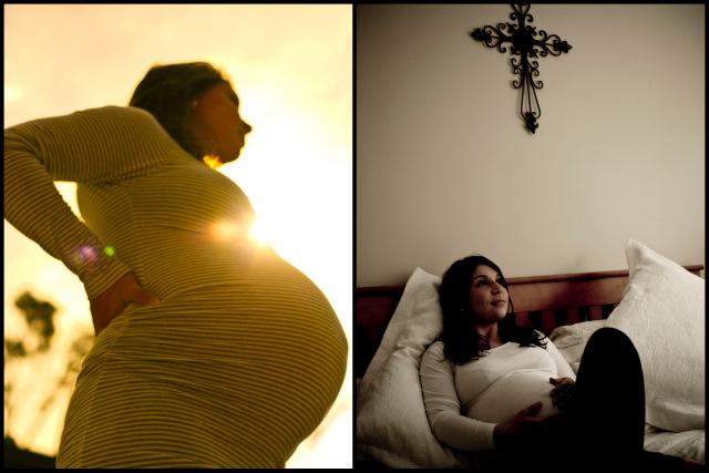maternity photograph of Kezia