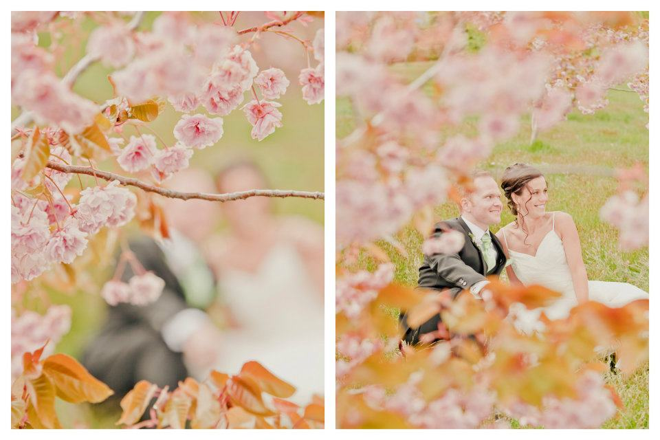 spring wedding blossom