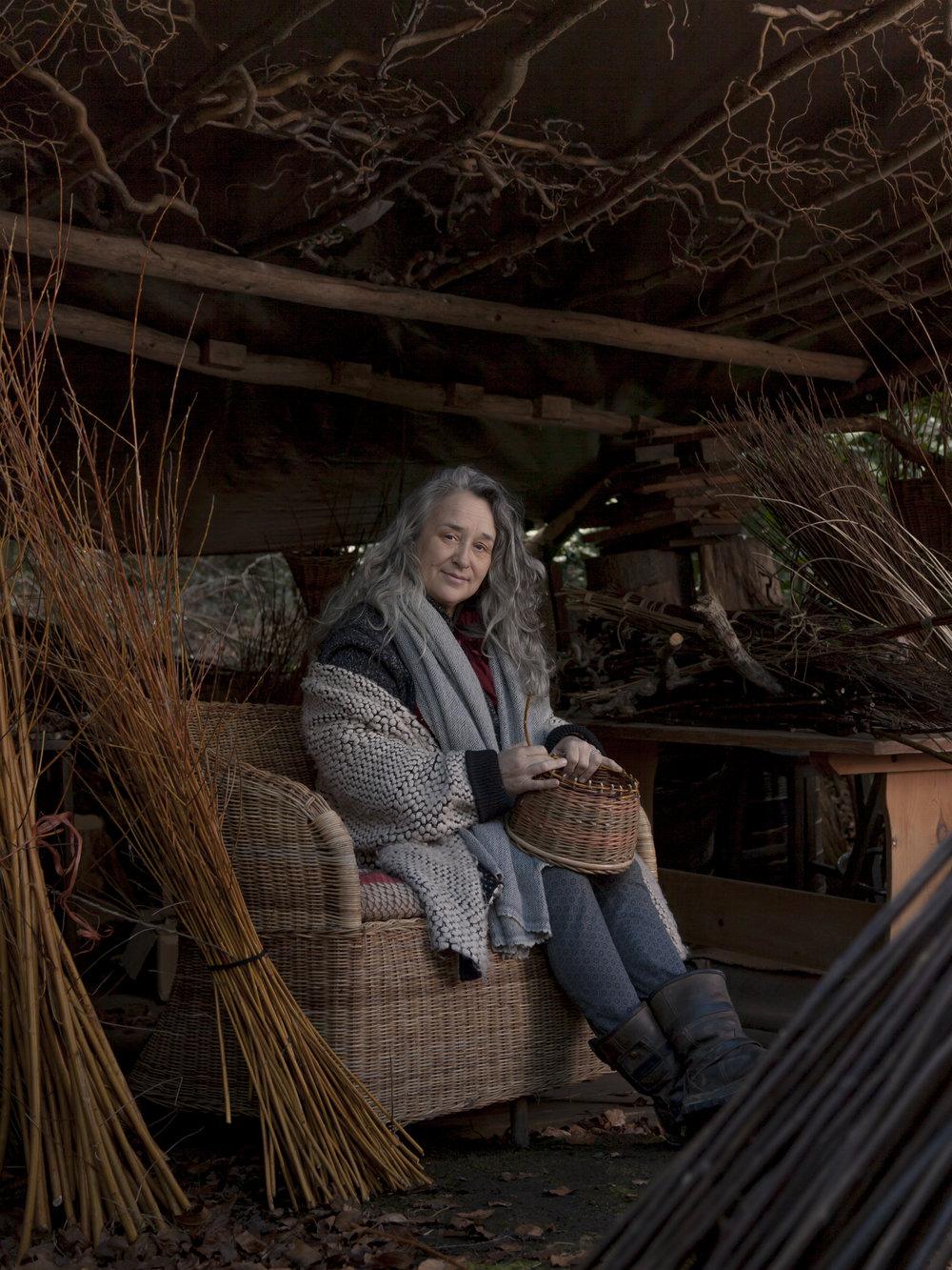 Nicki Rowling  - Basket Weaver