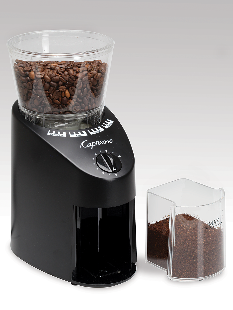 com black dusting grinder jura conical burr amazon brush infinity coffee dp capresso
