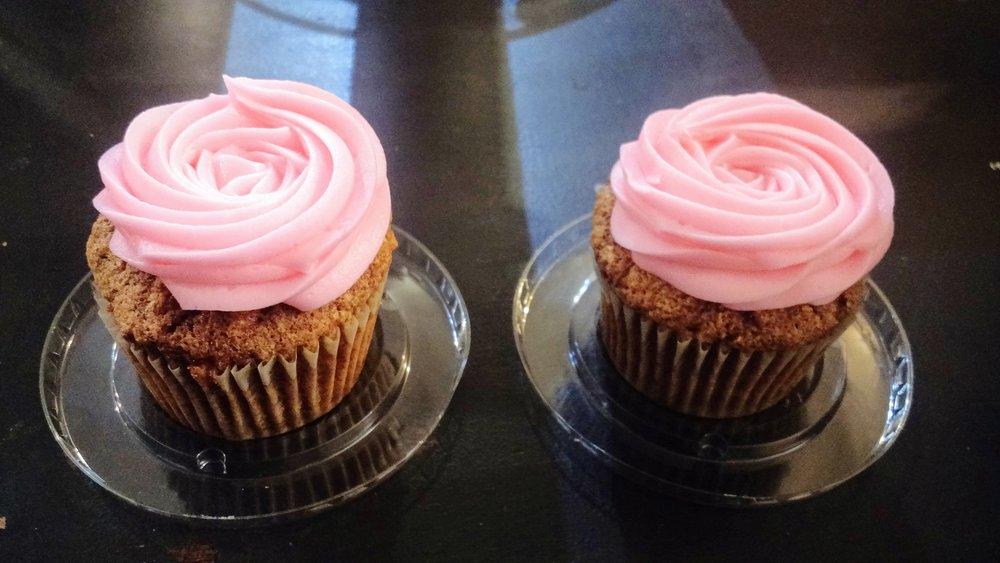 24-karat Carrot Cake cupcake