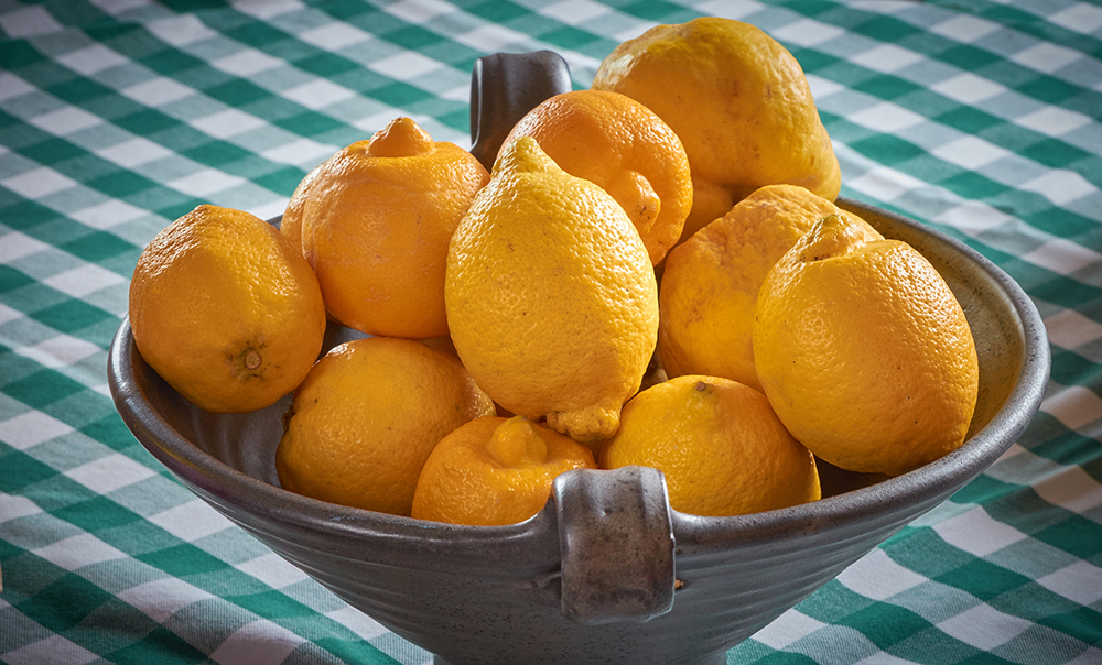 Bowl of lemons - Derbyshire Nutritionist