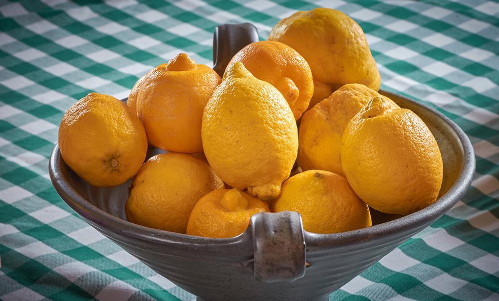 Bowl of lemons - Derbyshire Nutritionist
