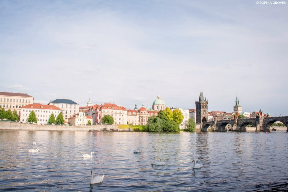 Across the River Vltava