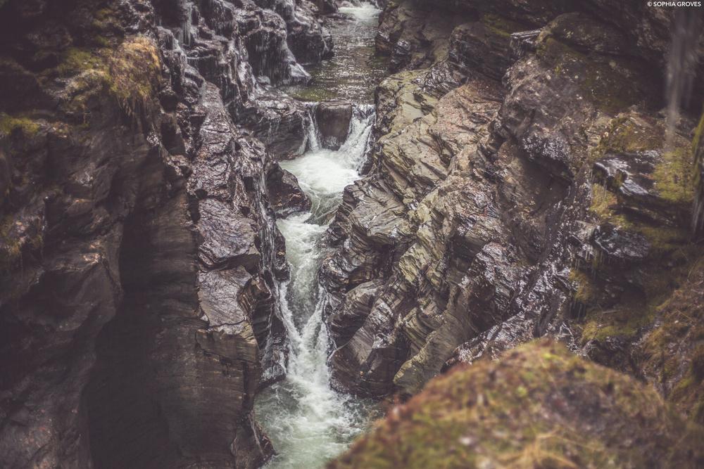 Bordalsgjelet Gorge, Voss, Norway
