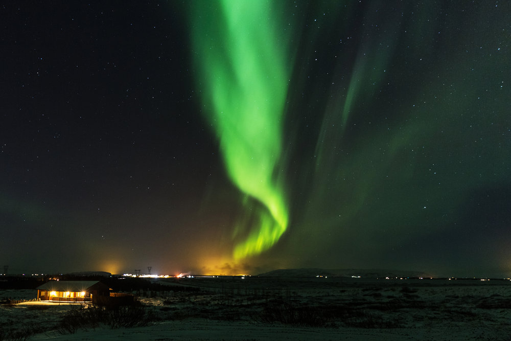 'Iceland at Christmas' for  Getty Images