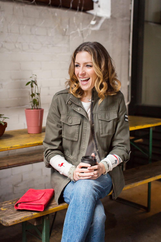 Kat Farmer for  Mint Velvet  Denim Campaign