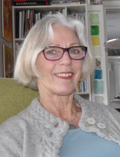 Engasjert: Griet Julianus er en av flere kunstinteresserte i grenda.