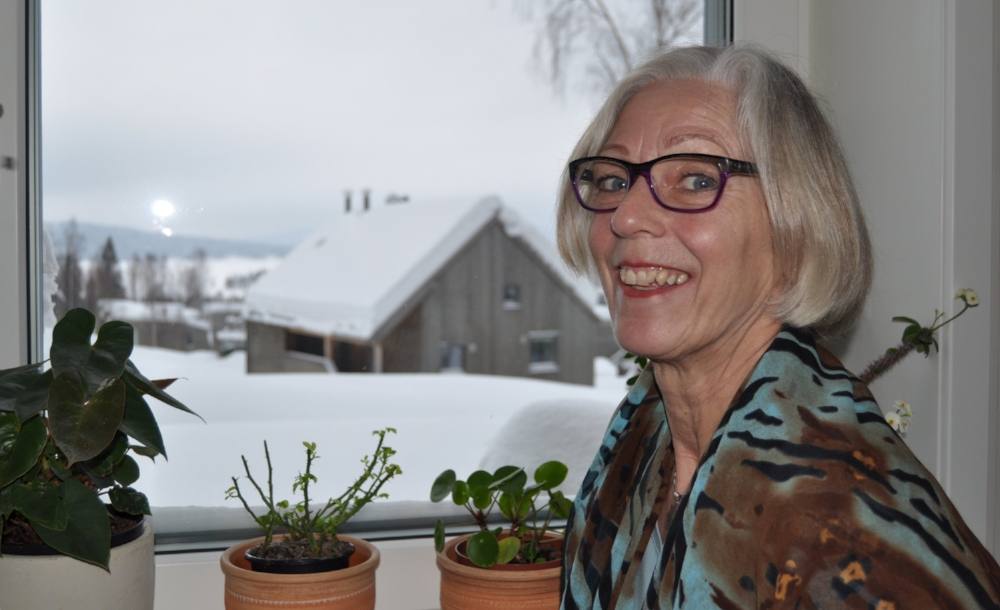 Overblikk:  Griet Julianus er en aktiv dame, med oversikt over det meste som skjer i grenda.