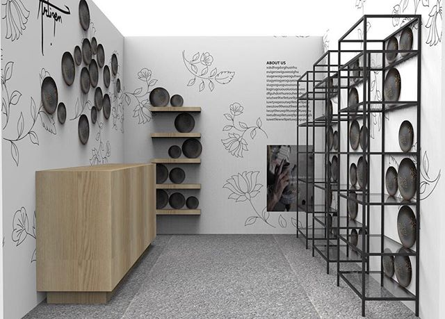 A concept rendering of our booth at @maisonetobjet -- counting down days now! #StayTuned 🙏🏻 - #maisonetobjet #artizenindia #handmade #madeinindia #tabletop #tableware #artisanal #craft #culture #paris #newyork #tableware #sketchup #tabletop #ceramics #ceramicartist #stoneware #design #designer #designporn #retail #tradeonly #showcase #designshow #designs #teapot #teaware #picoftheday #plate #designinspiration