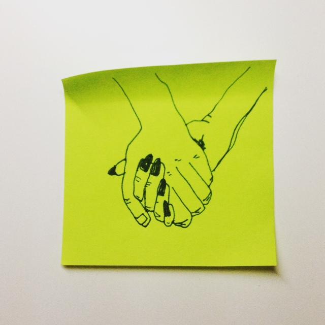 Effy Nails Holding Hands