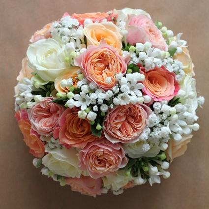 Coral Bouquets