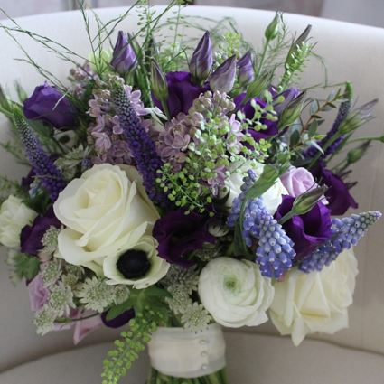 Blue/Purple Bouquets